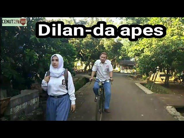 parodi trailer Dilan-da apes .. di jamin ngakak