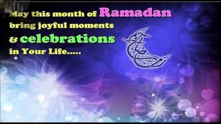 Ramadan Mubarak Best wishes, Sms, E-Greetings, Images, Quotes, Whatsapp Video