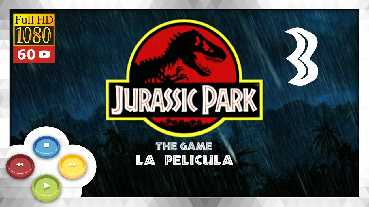 jurassic park the game 3 4 pelicula completa full movie pc ultra 1080p 60fps youtube. Black Bedroom Furniture Sets. Home Design Ideas