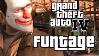GTA IV montage :  איך מפגרים משחקים