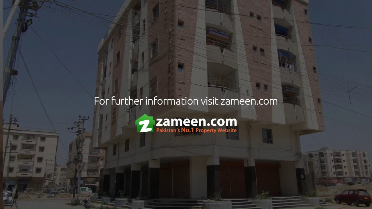FLAT IS AVAILABLE FOR SALE IN GULISTAN-E-JAUHAR - BLOCK 4A KARACHI