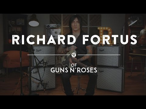 Richard Fortus of Guns N' Roses Talks Supro Black Magick and Supreme Amps | Reverb Interview