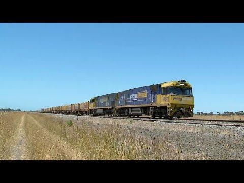 Pacific National Intermodal Container Freight - PoathTV Australian Trains & Railways