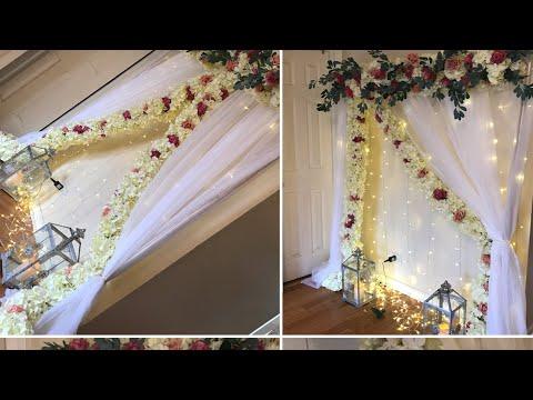 DIY-Flower Support Vine Backdrop Diy- Garland Backdrop Diy-Wedding Backdrop