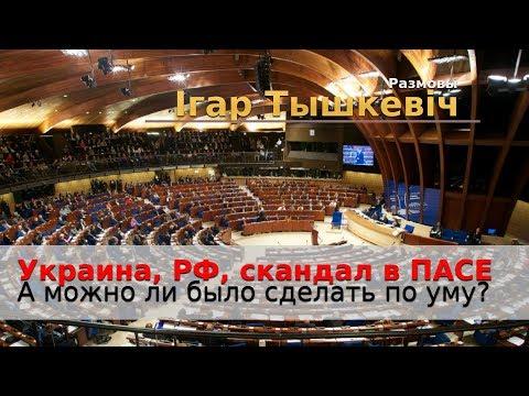 Украина, Россия, демарш в ПАСЕ. А можно ли было поступить по умному?
