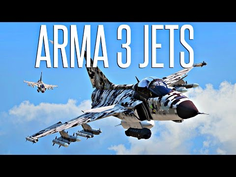 FIRST FLIGHT!  - ArmA 3 Jets DLC