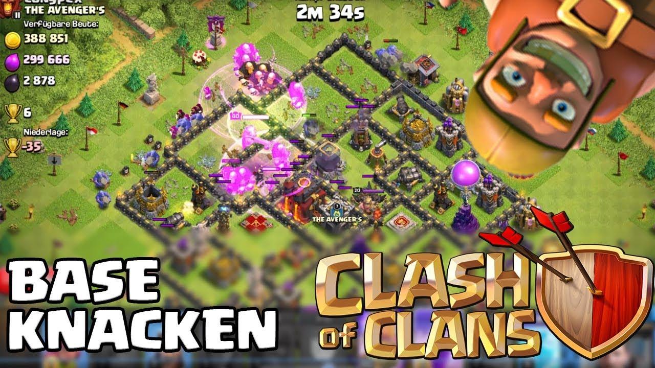 Base knacken [Clash of Clans ] DEUTSCH