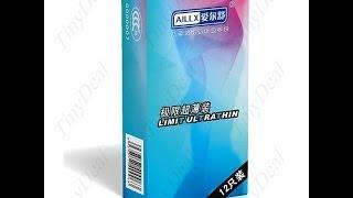 Экспресс обзор №11. Китайские презервативы Aillx (Tinydeal)