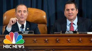 Schiff, GOP Members Clash Over Rules, Objections During Impeachment Hearing | NBC News