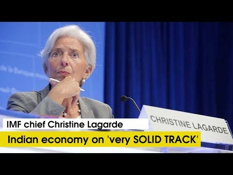 Listen IMF Chief reply on how foreign correspondent of NDTV frames her question to shame India