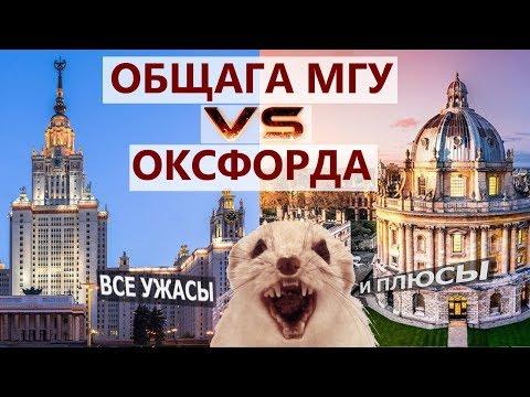 Общежитие МГУ Vs Общежитие ОКСФОРДА. Вся правда про общагу ГЗ МГУ