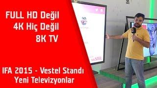Vestel 8K Çözünürlüklü TV İncelemesi