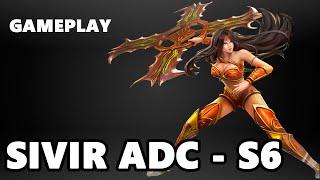 League of Legends - SIVIR ADC Gameplay - QUADRAKILL