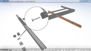 Doorkit 115 Standard Assemblaggio