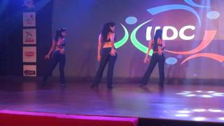 Latin Dance India's Ladies Performance - IIDC 2014