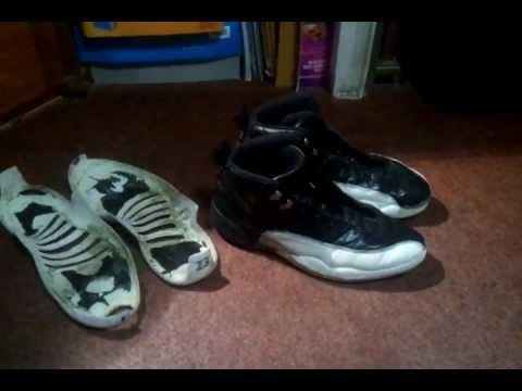 huge selection of 8f0dc 3c05b Air Jordan 12 OG Playoff Restoration Video Part 1 - YouTube