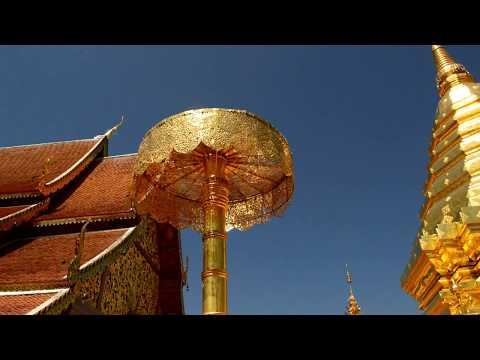We visit Wat Phra That Doi Suthep near Chiang Mai in Thailand. Part 3