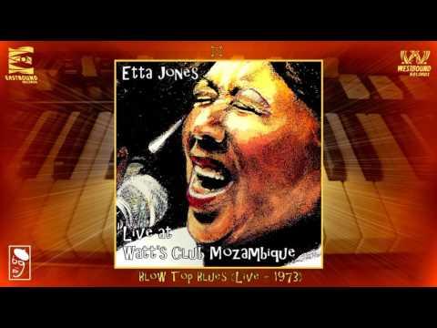 Etta Jones & Houston Person - Blow Top Blues (Live - 1973) [Jazz - Blues]