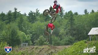 Check out Nick Romano and Justin Allen shredding MX207 as they prep...