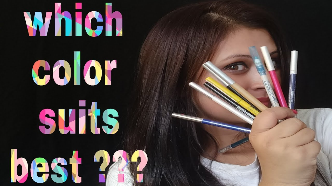 Eyeliner Colors For Brown Eyes Which Suits Best Youtube
