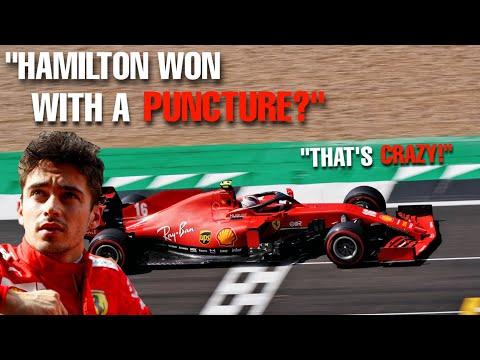 Leclerc UNHEARD radio Silverstone 2020   Did Hamilton win with a PUNCTURE?!