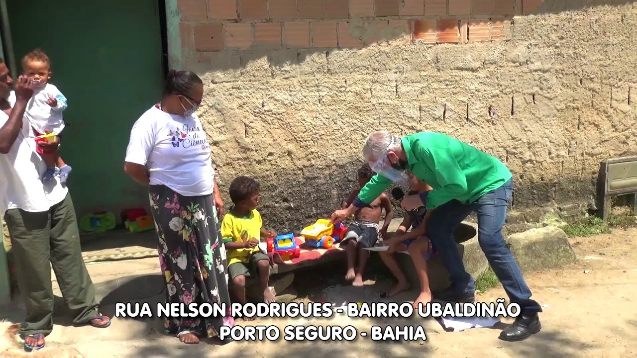 Problemas. Rua Nelson Rodrigues -Bairro Ubaldinão - Porto Seguro Bahia