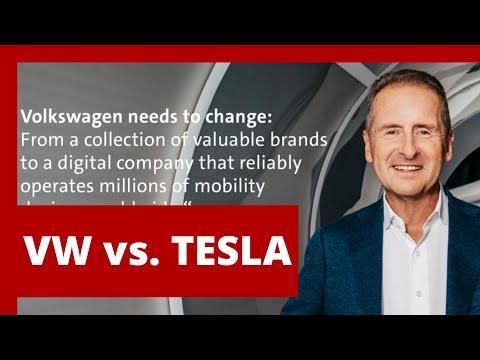 #241 VW Herbert Diess vs. Tesla | Teslacek