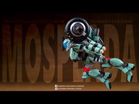Toy Review: Sentinel Riobot R-18 Mospeada VF-052F Cyclone (Stick Bernard)