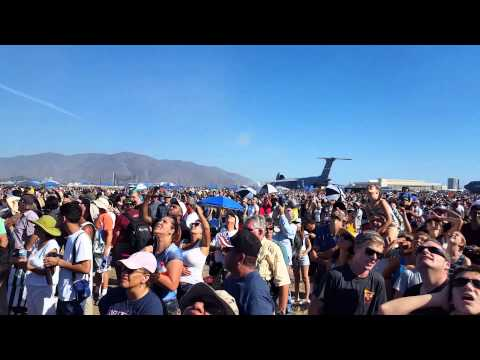 Copy of Blue Angels at Point Mugu 2015 - Stablized