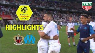 OGC Nice - Olympique de Marseille ( 1-2 ) - Highlights - (OGCN - OM) / 2019-20