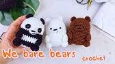 "JUAL BONEKA RAJUT on Instagram: ""2 set we bare bears ...   94x168"