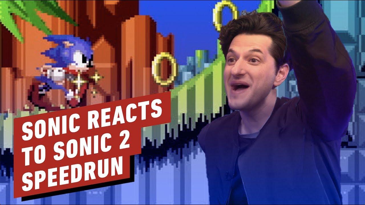 Ben Schwartz de Sonic the Hedgehog réagit au Sonic 2 Speedrun + vidéo