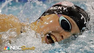 Ledecky avenges relegation to B final with fastest 200 free of the night at US Open | NBC Sports