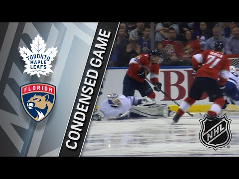 02/27/18 Condensed Game: Maple Leafs @ Panthers