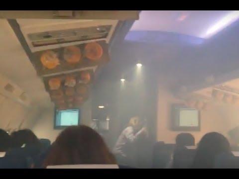 Explosive decompression at Simulador TCP. EAS Barcelona pilot school