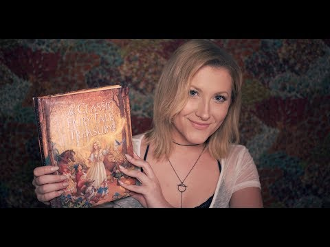 ASMR | Bedtime Fairy Tales (Tapping, Page Turning, Soft Speaking, Whispering)