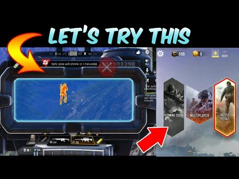 Call Of Duty Mobile || Battle Royal Mode Gameplay || First Experience (Hindi)