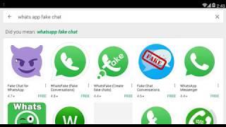 Whatsapp İçin Sahte Sohbet Oluşturma.
