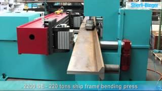 Download Video 2200 SE ship frame bending machine - Stierli Bieger MP3 3GP MP4