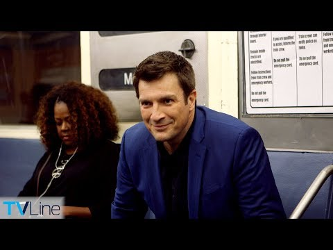 Nathan Fillion Talks 'The Rookie,' 'Castle' on Train  TVLine's Tube Talk