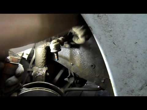 снятие руливой рейки на ВАЗ 2110