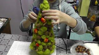 видео Мастер класс: елка из шаров