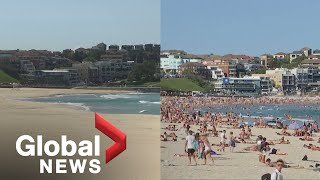 Coronavirus outbreak: Popular tourist landmarks before and after COVID-19 outbreak