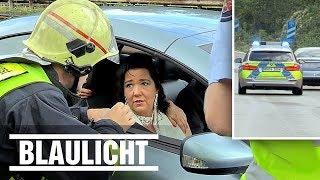 Stau! Polizist bringt Braut zur Hochzeit