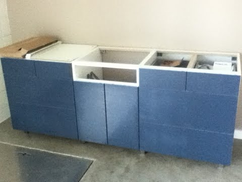 Ikea Kitchen Base Cabinets and Drawer Assembly - Tips and how-to.