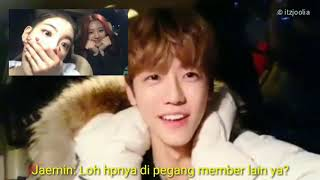 [ VIDEO CALL ] ITZY's Lia & NCT's Jaemin