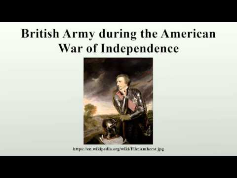British Army during the American War of Independence