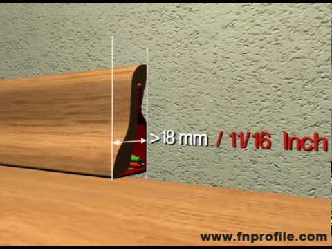sockelleisten gehrung schneiden und danach montieren au doovi. Black Bedroom Furniture Sets. Home Design Ideas