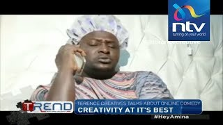 Terence Creative talks about his tool of trade || #theTrend