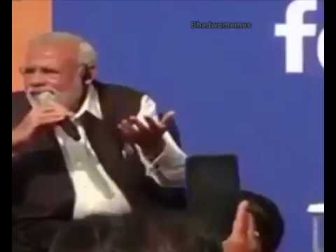 NARENDER MODI unseen  indian idol audition